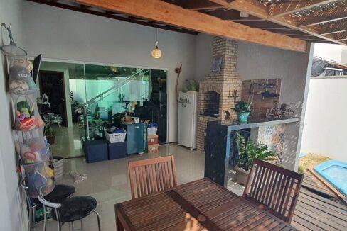 13 casa venda condomínio fechado 4 suítes, piscina, DCE