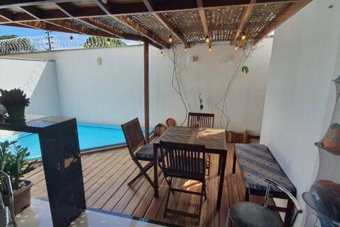 14 casa venda condomínio fechado 4 suítes, piscina, DCE