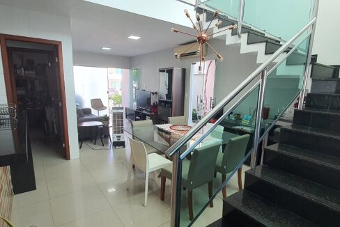 4 casa venda condomínio fechado 4 suítes, piscina, DCE