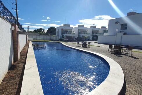 48 casa venda condomínio fechado 4 suítes, piscina, DCE
