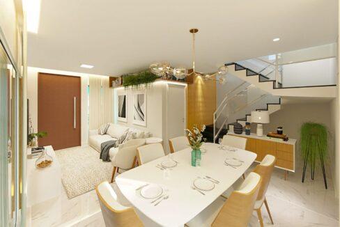 2 Vila Zoe, casa duplex, 4 quartos sendo 3 suítes, avenida Presidente Kennedy, Zona leste Teresina
