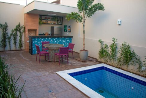 4.1 Condomínio de casas Vivier residence, 4 suítes no bairro Morros em Teresina-PI
