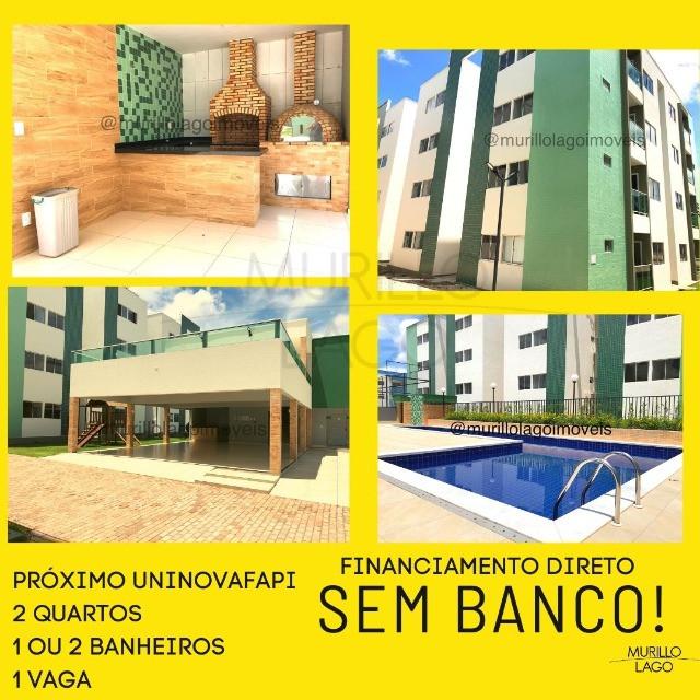 Solaris City apartamentos 2 quartos próximo Uninovafapi – Financiamento direto construtora