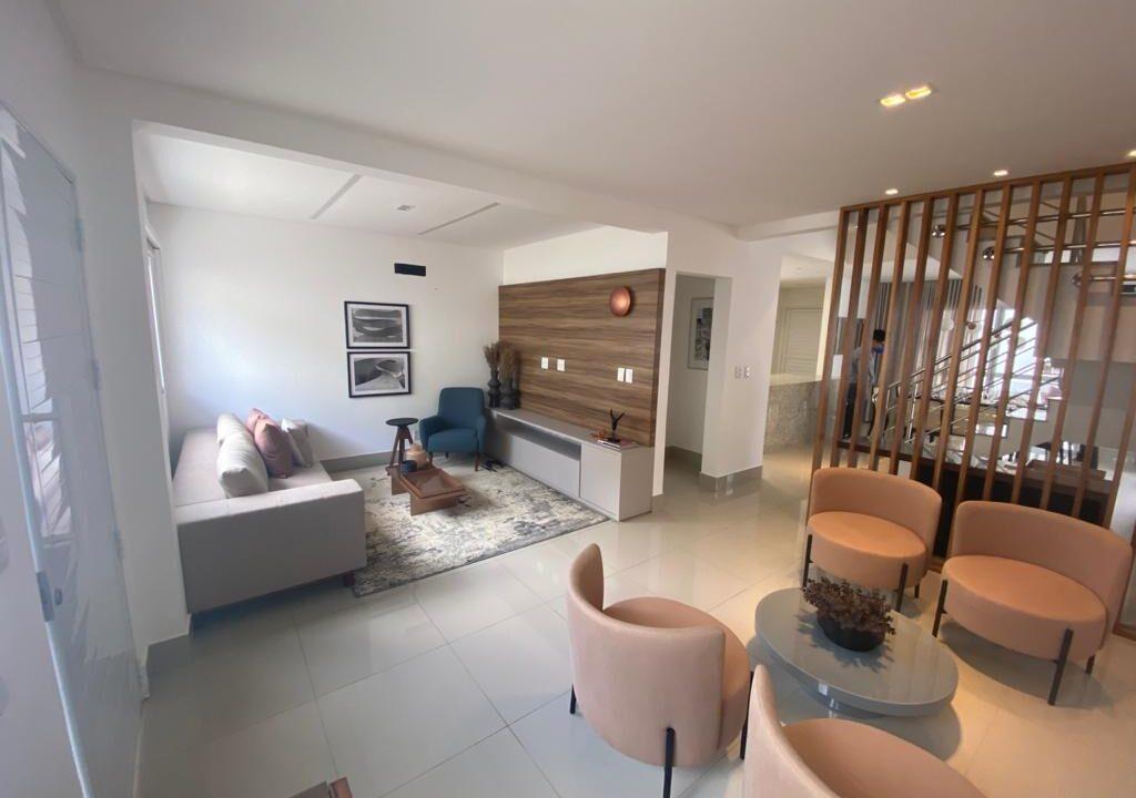 1.1 casa duplex em condomínio fechado,3 suítes, mobiliada, excelente acabamento no bairro morros em Teresina-PI