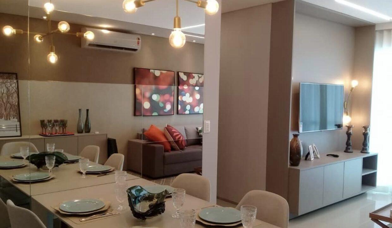 2 Amalfi Residence,zona leste Teresina,107,23 m² e 127,03m² com 03 suítes (sendo 01 suíte reversível), sala de estar e jantar, varanda, cozinha com área de serviço, DCE, interfone. 2 ou 3 vagas