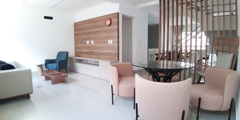 26 Casa duplex 127m² La vie Suiça, Zona leste Teresina, 3 quartos sendo 1 suíte master,3 vagas
