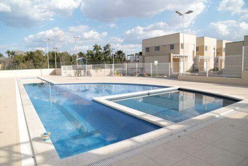 3 Barcelona residence, casa duplex em condomínio fechado 104m²,zona leste Teresina,Piscina,área de lazer,playground