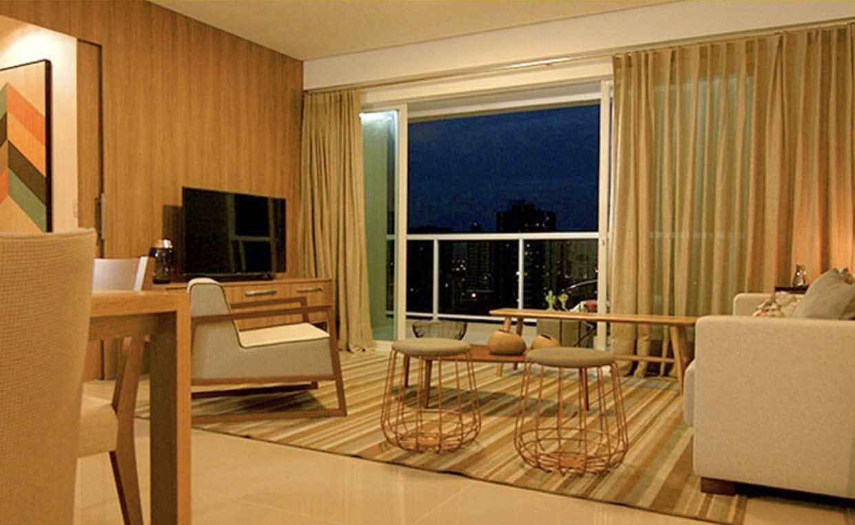 Condomínio Claudia Rene, 123m², Mobiliado,3 suítes sendo 1 master próximo Dom Severino e Homero Castelo Branco