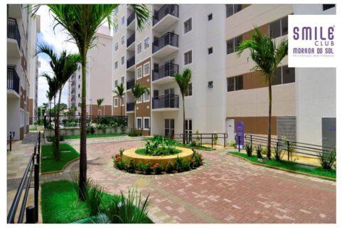 3.1 Smile morada do sol, Apartamento 60m², 2 quartos, zona leste Teresina, elevador, área completa lazer,1 vaga