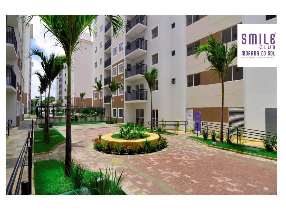 Apartamento venda Smile Club Morada do Sol – 3 quartos (1 suíte)-  PRONTO PARA MORAR
