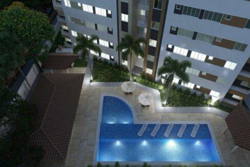 4 Apartamento 60,34m²,3 quartos sendo 1 suíte, zona leste Teresina, próximo Novafapi