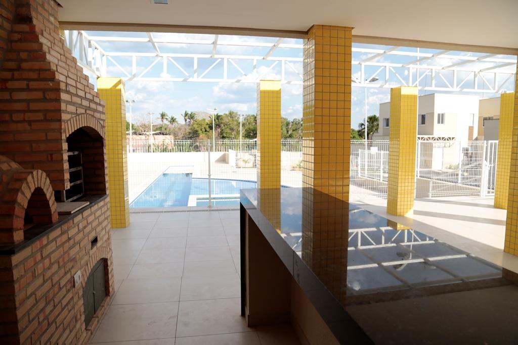 6 Barcelona residence, casa duplex em condomínio fechado 104m²,zona leste Teresina,Piscina,área de lazer,playground