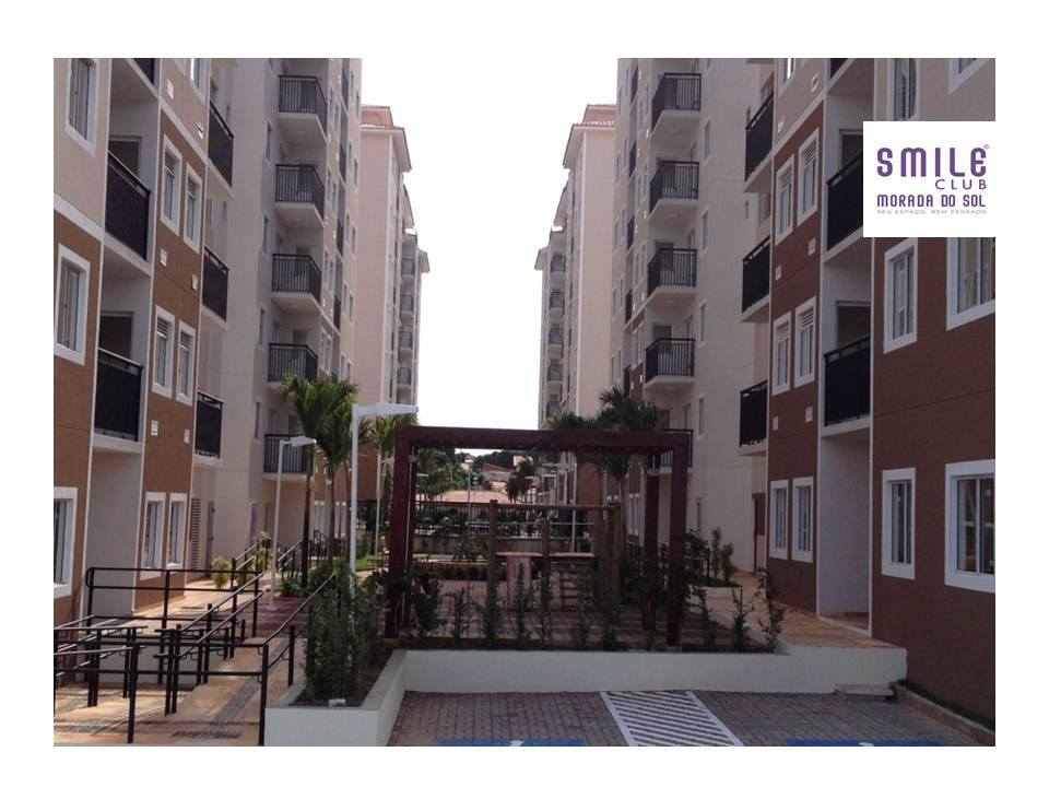 6.1 Smile morada do sol, Apartamento 60m², 2 quartos, zona leste Teresina, elevador, área completa lazer,1 vaga