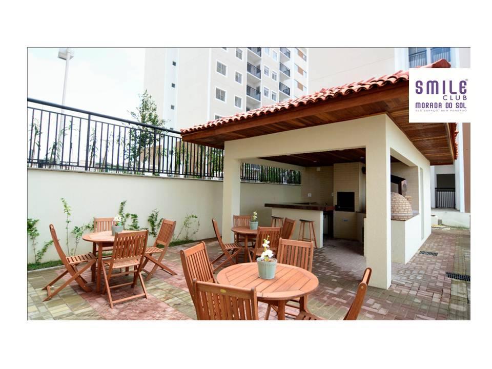 6.2 Smile morada do sol, Apartamento 60m², 2 quartos, zona leste Teresina, elevador, área completa lazer,1 vaga