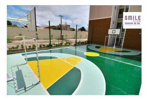 6.4 Smile morada do sol, Apartamento 60m², 2 quartos, zona leste Teresina, elevador, área completa lazer,1 vaga
