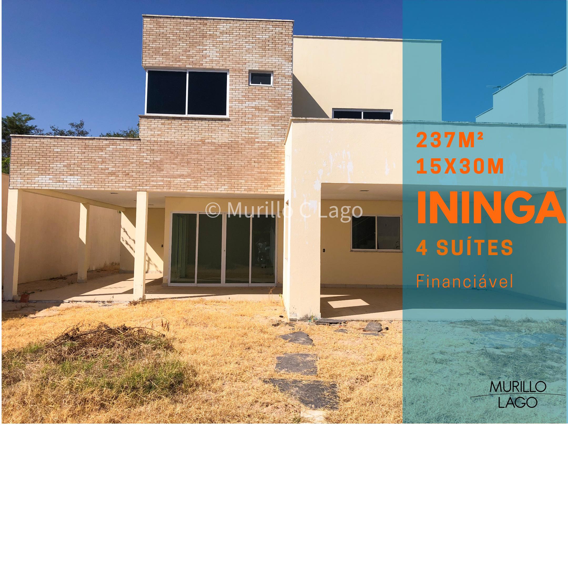 Casa duplex para venda na Ininga ,4 suítes, dependência de empregado próximo UFPI e rua Alaíde Marques