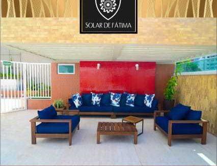 12 Solar de Fátima, Apartamento 130,54m², Jóquei clube, 3 suítes, 2 vagas,Varanda, DCE