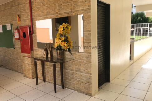 17 Apartamento 69m² ,3 quartos sendo 1 suíte,condomínio fechado,1 vaga de garagem,zona sul