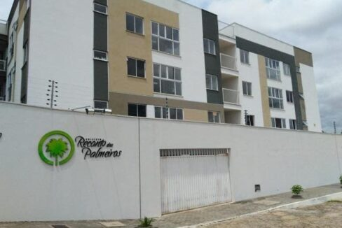 20 Apartamento para venda no Edifício Recanto das Palmeiras Teresina,3 Quartos, sendo 1 suíte, banheiro social, 1 vaga, piso em porcelanato