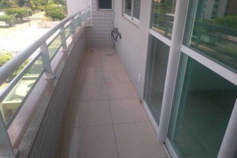 6.1 Solar de Fátima, Apartamento 130,54m², Jóquei clube, 3 suítes, 2 vagas,Varanda, DCE