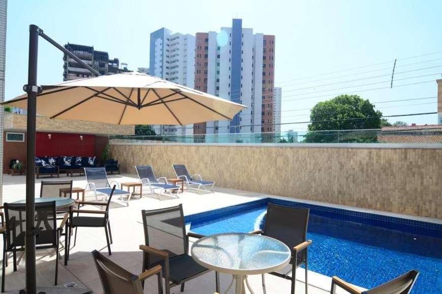 9 Solar de Fátima, Apartamento 130,54m², Jóquei clube, 3 suítes, 2 vagas,Varanda, DCE