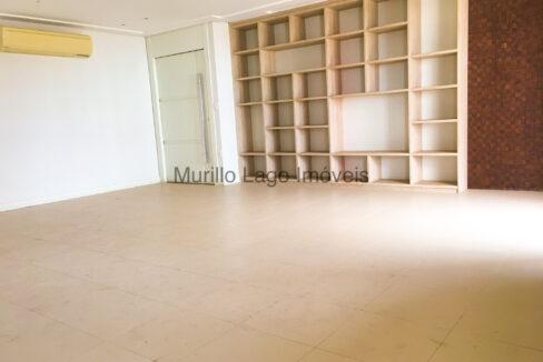 1 Apartamento 140m², Jóquei, 3 suítes sendo 1 master com closet e varanda, ampla sala,varanda,DCE, 2 vagas