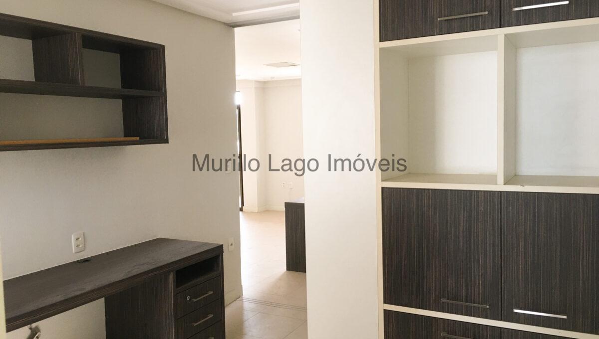 11 Apartamento 140m², Jóquei, 3 suítes sendo 1 master com closet e varanda, ampla sala,varanda,DCE, 2 vagas