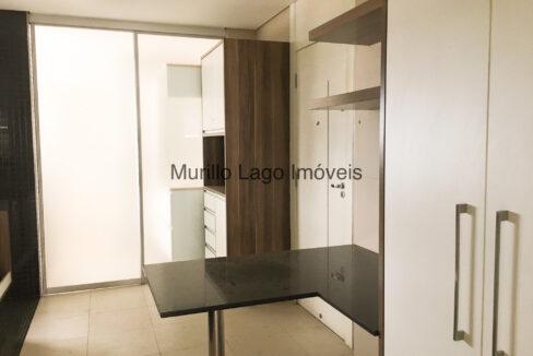 27 Apartamento 140m², Jóquei, 3 suítes sendo 1 master com closet e varanda, ampla sala,varanda,DCE, 2 vagas