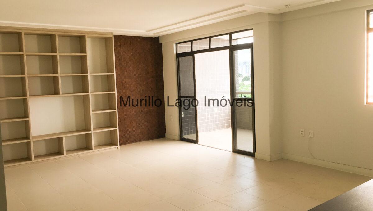 3 Apartamento 140m², Jóquei, 3 suítes sendo 1 master com closet e varanda, ampla sala,varanda,DCE, 2 vagas (2)