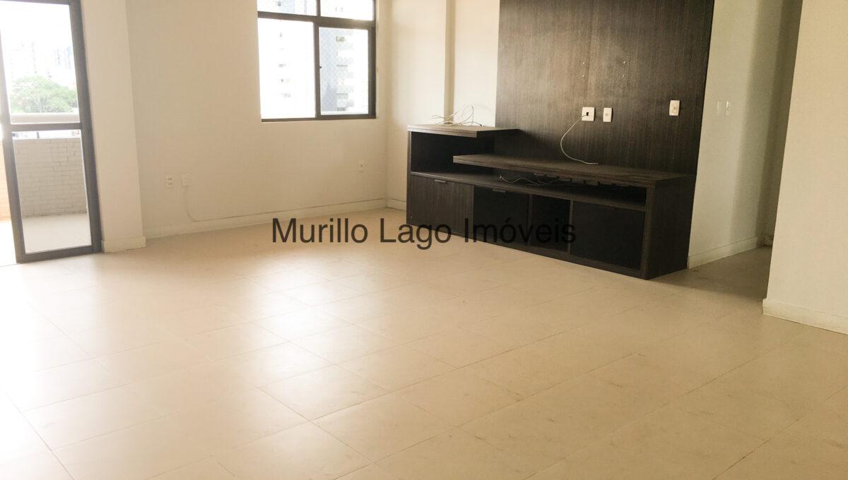 4 Apartamento 140m², Jóquei, 3 suítes sendo 1 master com closet e varanda, ampla sala,varanda,DCE, 2 vagas