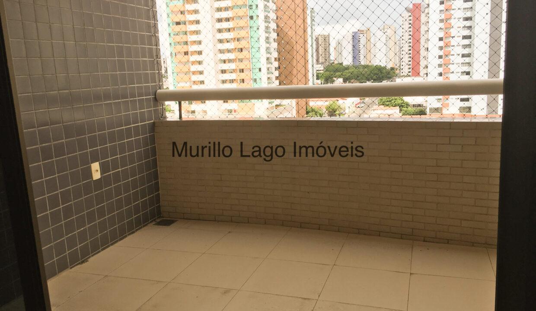 5.1 Apartamento 140m², Jóquei, 3 suítes sendo 1 master com closet e varanda, ampla sala,varanda,DCE, 2 vagas