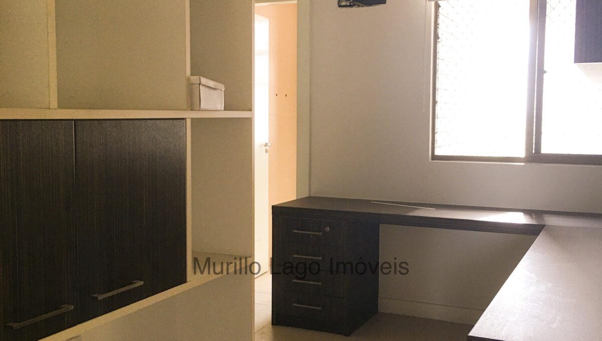 9 Apartamento 140m², Jóquei, 3 suítes sendo 1 master com closet e varanda, ampla sala,varanda,DCE, 2 vagas
