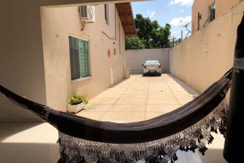 13 Casa duplex Ininga 4 suítes, porcelanato,dependência completa empregado, ampla área externa
