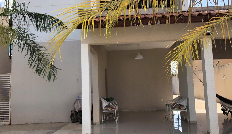 17 Casa duplex Ininga 4 suítes, porcelanato,dependência completa empregado, ampla área externa