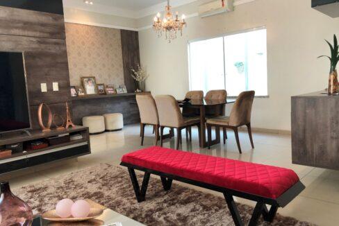 2 Casa duplex Ininga 4 suítes, porcelanato,dependência completa empregado, ampla área externa