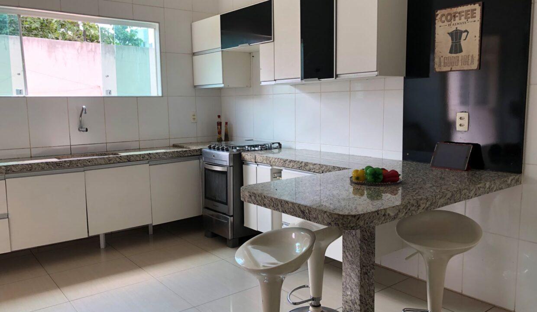 20 Casa duplex Ininga 4 suítes, porcelanato,dependência completa empregado, ampla área externa