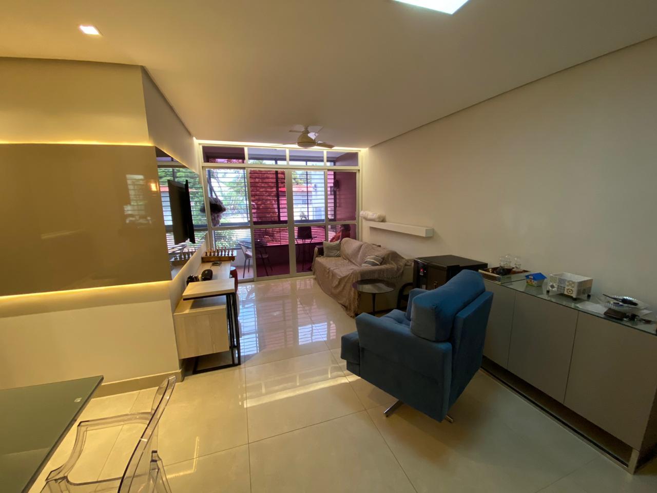 Apartamento venda reformado,3 quartos(1 suíte), 2 vagas -Próximo avenida João XXIII– Murillo Lago Imóveis