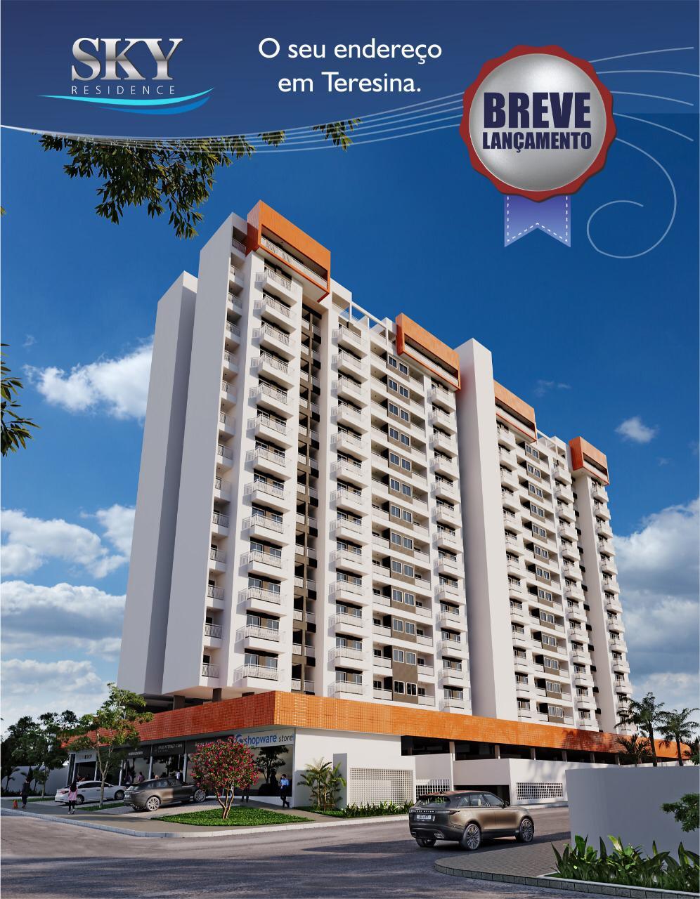 Condomínio SKY Residence no bairro Ilhotas – Teresina-PI