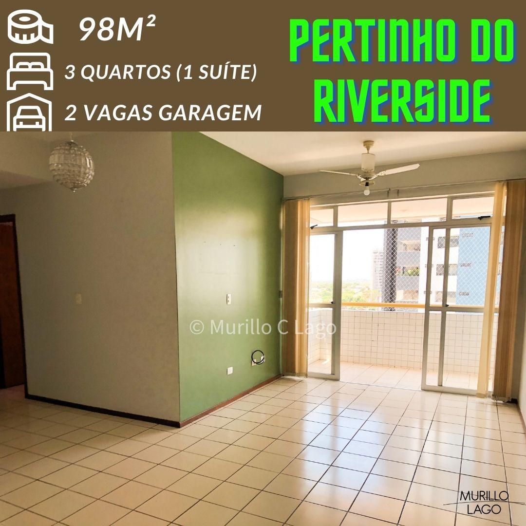 Apartamento venda 98m² próximo Avenida Jóquei Clube – Murillo Lago Imóveis