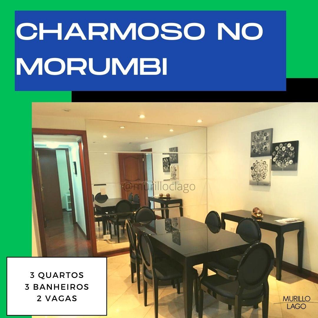 Apartamento no Morumbi,3 Quartos e 3 banheiros à Venda, 105 m² por R$ 650.000,00 – Murillo Lago Imóveis