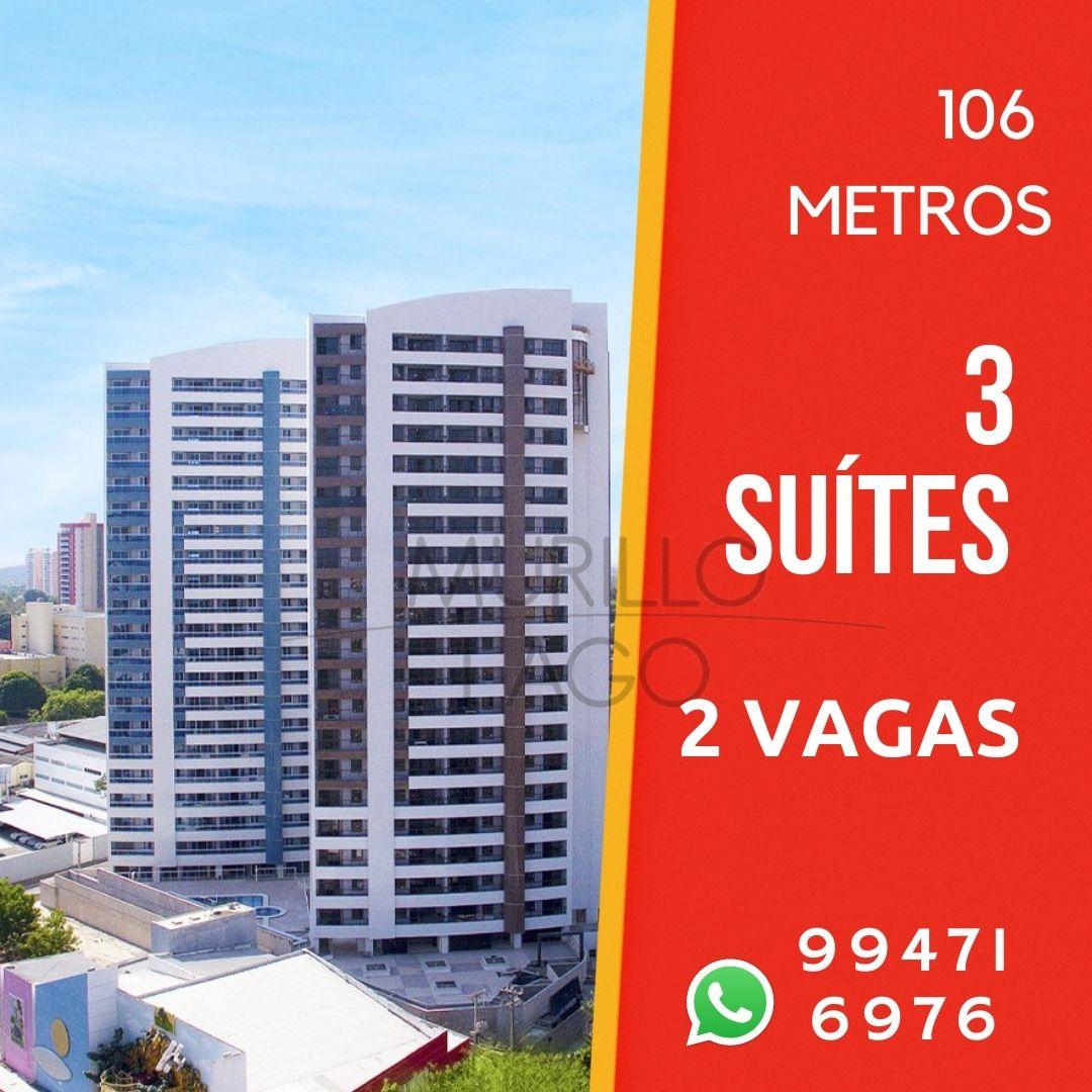 Apartamento venda Mirante Theresina,3 suítes,Horto Florestal,Teresina-PI