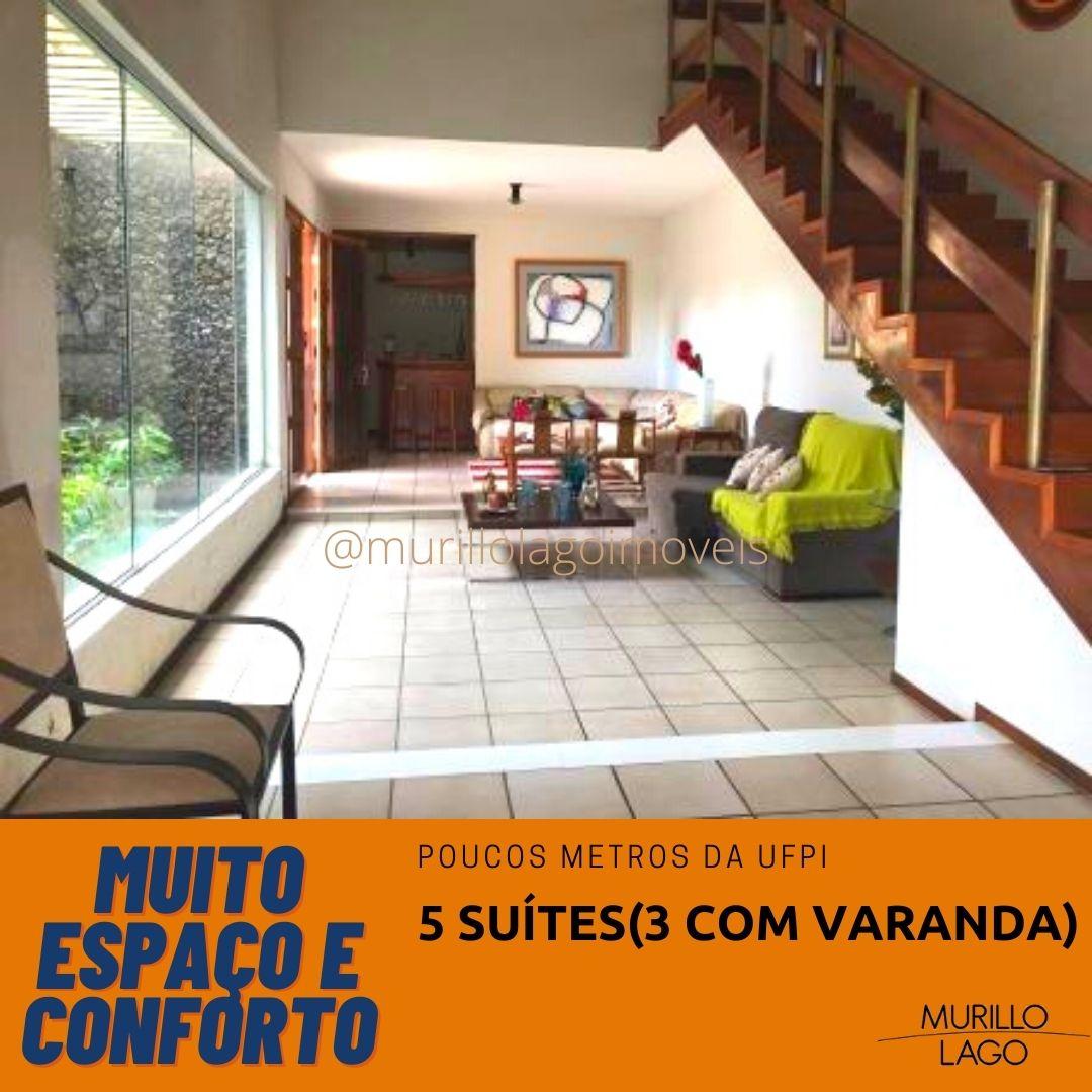 Casa duplex à venda 3 suítes com varanda Ininga próximo UFPI com excelente localização
