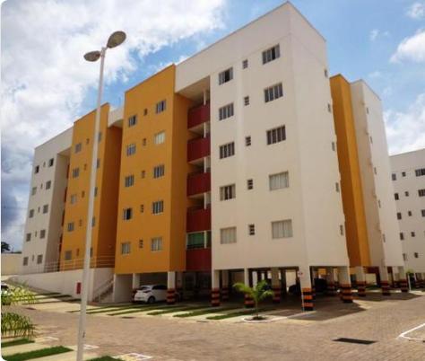 Apartamento venda no Cajuína residence, 3 quartos sendo 1 suíte, elevador, bairro Santa Isabel em Teresina-PI