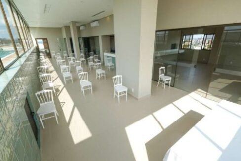 14 Apartamento venda Studio Homero, 59,90m², 1 suíte, varanda, 1 vaga, piscina,Teresina-PI