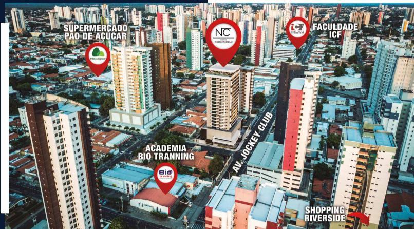 14 Condomínio Neto Campelo, apartamentos com 3 suítes, 111 metros Jóquei,Teresina