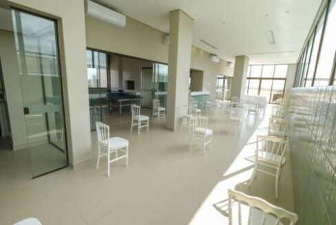 15 Apartamento venda Studio Homero, 59,90m², 1 suíte, varanda, 1 vaga, piscina,Teresina-PI