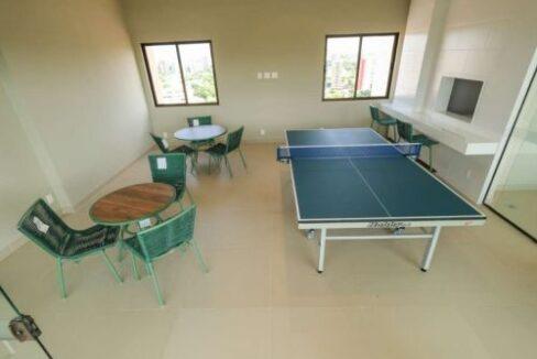 16 Apartamento venda Studio Homero, 59,90m², 1 suíte, varanda, 1 vaga, piscina,Teresina-PI