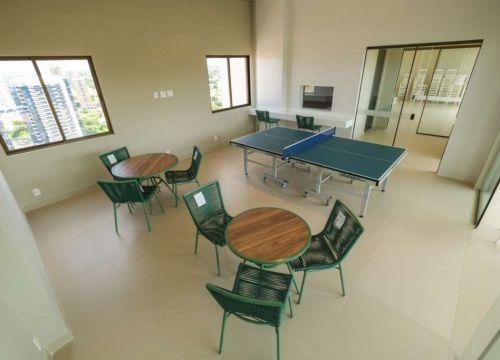 17 Apartamento venda Studio Homero, 59,90m², 1 suíte, varanda, 1 vaga, piscina,Teresina-PI
