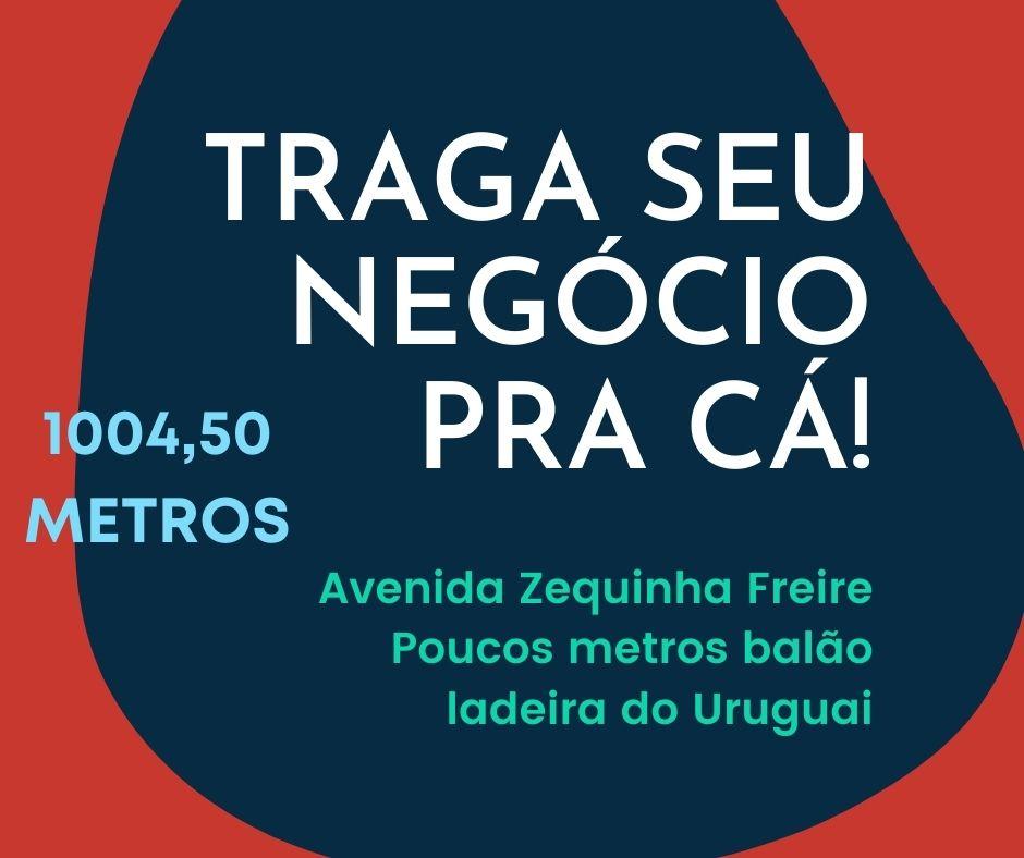 Galpão aluguel, 1004 metros na avenida Zequinha Freire poucos metros da ladeira do Uruguai em Teresina-PI