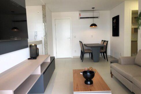 2 Apartamento venda Studio Homero, 59,90m², 1 suíte, varanda, 1 vaga, piscina, Teresina-PI